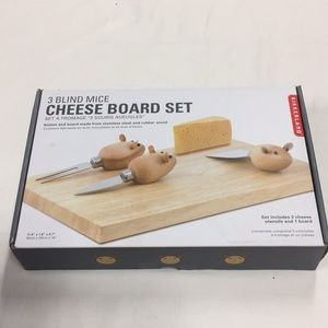 Other - 3 Blind Mice Cheese Board NIB